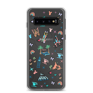 Disneyland Samsung Case California Dreamin'  Disney Inspired Icon Samsung Case