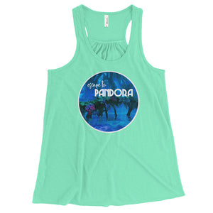 Pandora Escape Womens Flowy Tank Animal Kingdom Walt Disney World