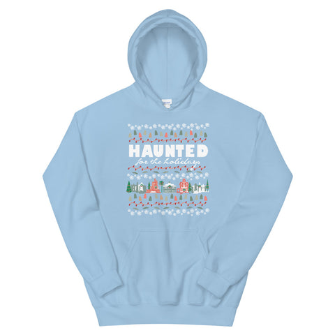 Haunted Mansion Holidays Hoodie Sweatshirt Disney Parks Haunted for the Holidays Hoodie Sweatshirt