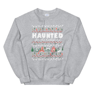Haunted Mansion Holidays Sweatshirt Disney Parks Haunted for the Holidays Sweatshirt