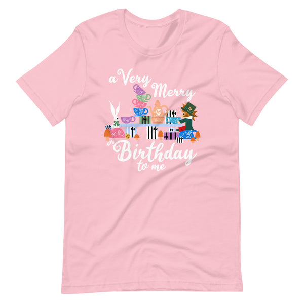 Disney Birthday T-Shirt Alice in Wonderland A Very Merry un Birthday To Me T-Shirt