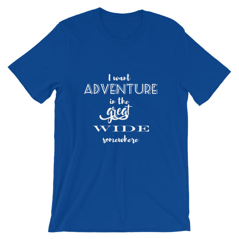 Adventure in the Great Wide Somewhere Beauty and the Beast T-Shirt