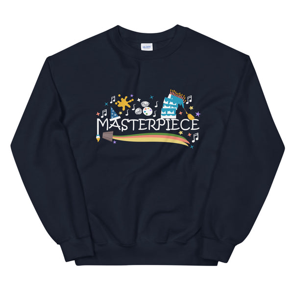 Disney Art Sweatshirt Mickey Masterpiece Festival of the Arts Unisex Sweatshirt