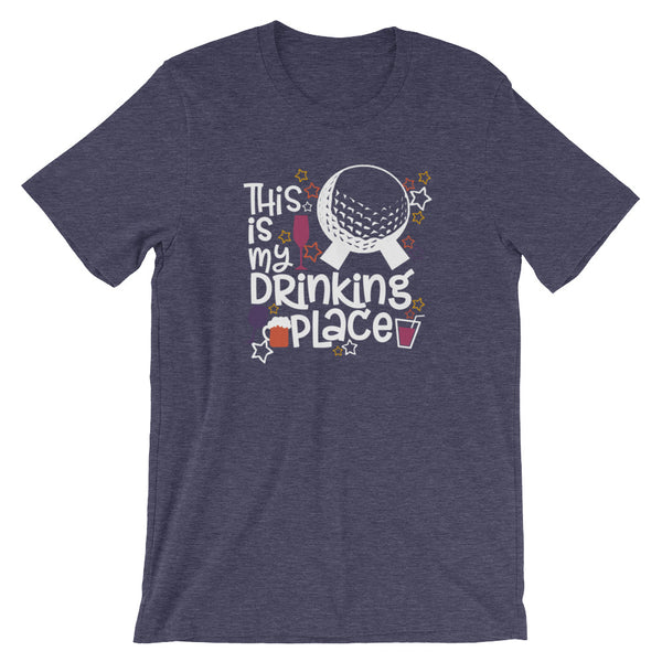 Disney Epcot This is My Drinking Place Short-Sleeve Unisex T-Shirt