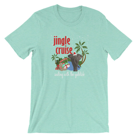 Jingle Cruise Elephant T-Shirt Disney Christmas Jungle Cruise T-Shirt