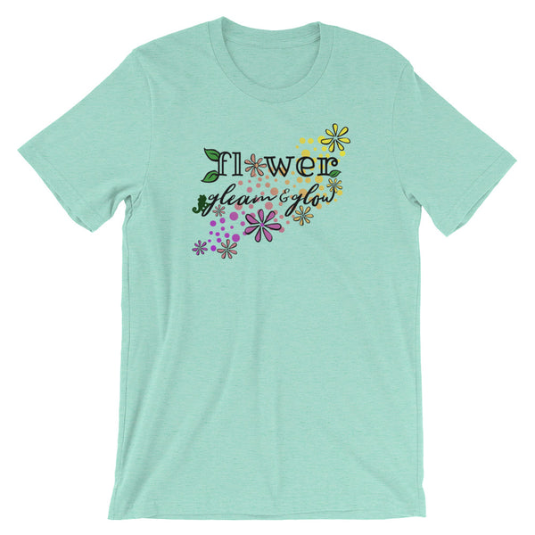 Rapunzel Flower Gleam and Glow, Tangles Flower and Pascal Disney Shirt,Short-Sleeve Unisex T-Shirt