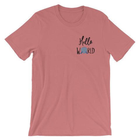 Epcot World Showcase Hello World READY TO SHIP Spaceship Earth T-Shirt- SMALL