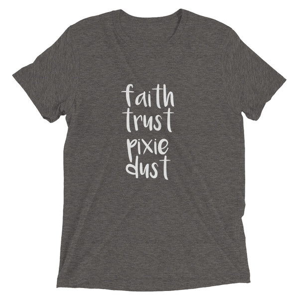 Faith Trust and Pixie Dust Tinkerbell Vintage Triblend T-Shirt