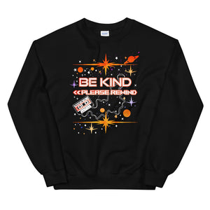 Guardians of the Galaxy Sweatshirt Be Kind Please Rewind Disney Marvel Unisex Crew Sweatshirt