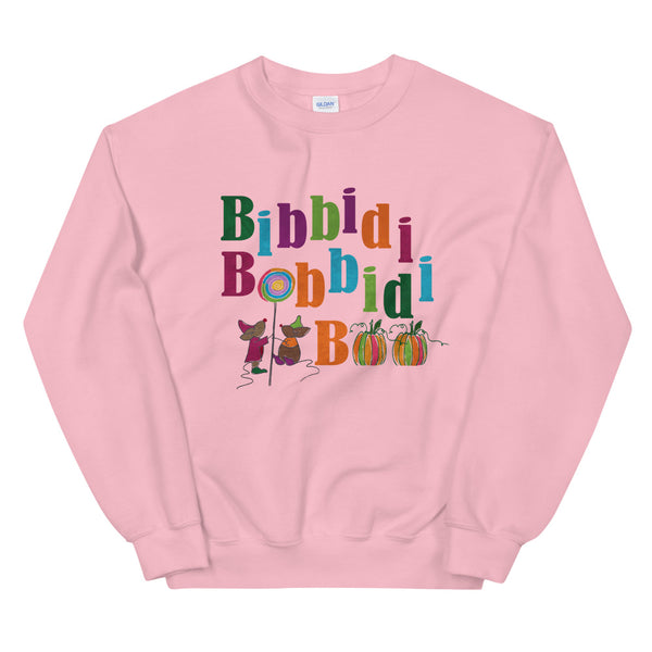 Disney Halloween Cinderella Sweatshirt, Bibbidi Bobbidi Boo Pumpkins with Jaq and Gus