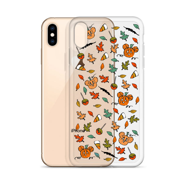 Boo to You iPhone Case Disney Halloween Sketch  Mickey Pumpkin iPhone Case