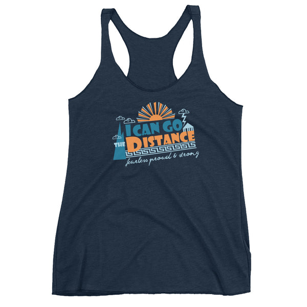 Hercules Run Disney Tank Top. I Can Go The Distance Disney Racerback Tank