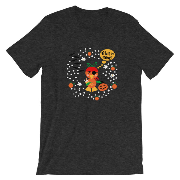 Disney Orange Bird Halloween T-Shirt Pirate Costume Trick or Treat Shirt