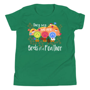 Three Caballeros Kids T-shirt, Disney Birds of a Feather Disney Kids T-shirt