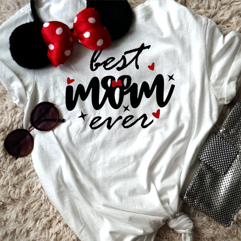 Best Mom Ever. Disney Mom Unisex T-Shirt
