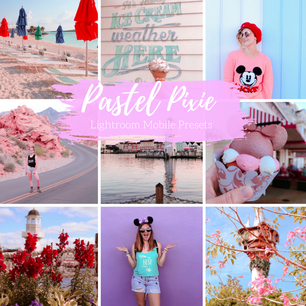 Pastel Pixie Lightroom Mobile Preset