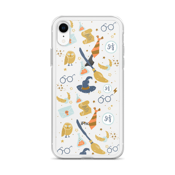 Harry Potter iPhone Case Wizarding World Hogwarts Harry Potter Sketch iPhone