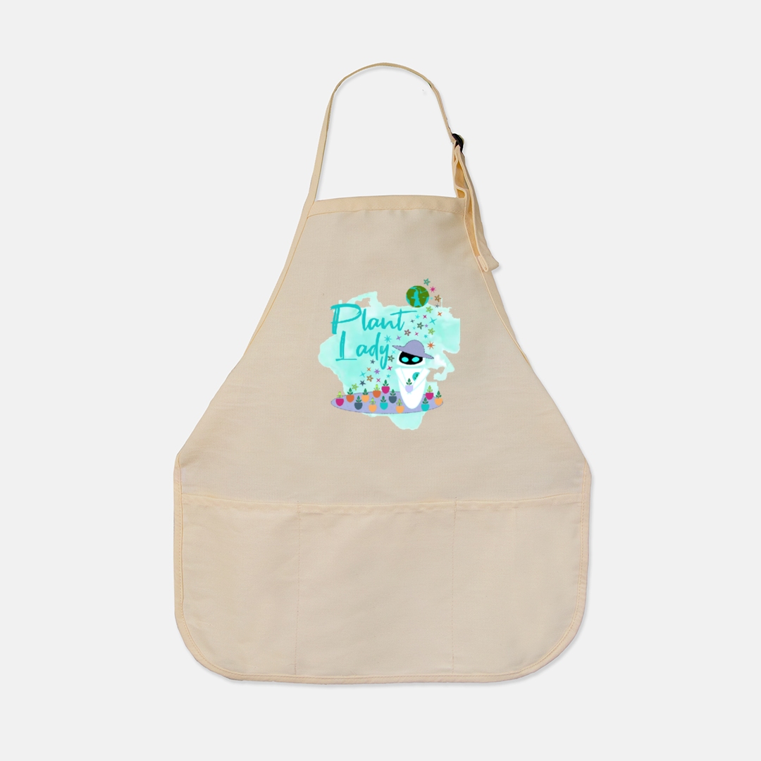 Plant Lady EVE Disney Wall-E Inspired Utility Apron