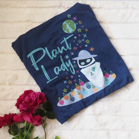 Plant Lady T-shirt EVE Disney Wall-E Inspired Short-Sleeve Unisex T-Shirt