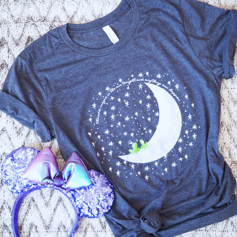 Magic in the Air T-Shirt Princess and the Frog Moon Unisex T-Shirt