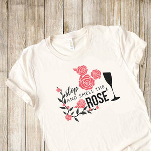 Mickey Mouse Rose Wine T-Shirt, Disney Food and Wine