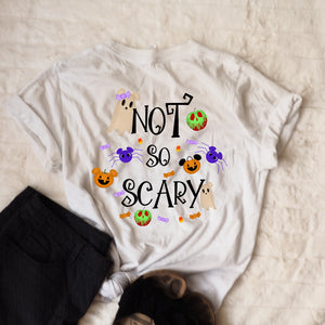 Disney Not So Scary T-Shirt Disney Halloween Boo To You Disney T-Shirt