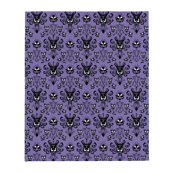 Haunted Mansion Disney Throw Blanket