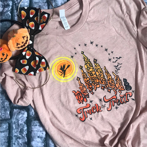 Disney Halloween T-shirt, Trick or Treat Castle