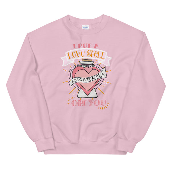 Love Potion Wizarding World Potions and Spells Valentine's Day Unisex Sweatshirt
