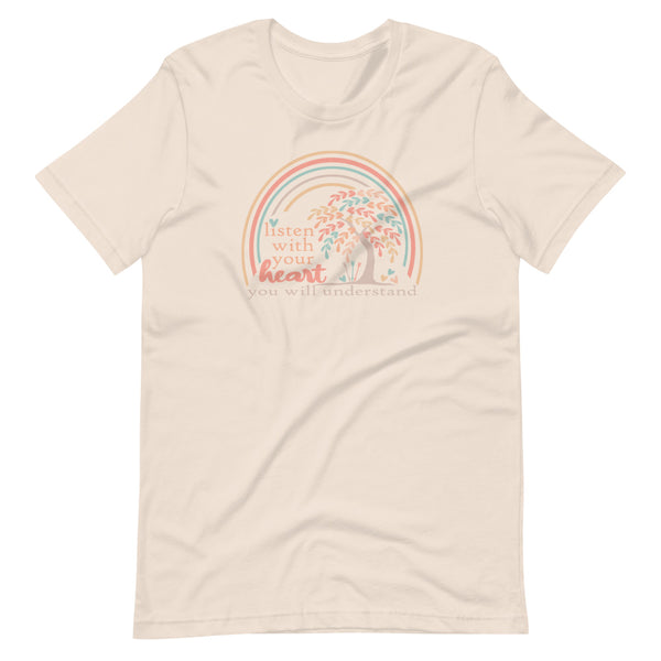 Pocahontas Grandma Willow T-Shirt Listen with your Heart Disney T-shirt