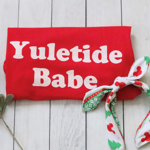 Christmas Holiday Yuletide Babe Short-Sleeve Unisex T-Shirt