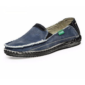 Mens Casual Denim Loafers-Taystee Shoes