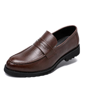 Slip-on Leather Driving Moccasins