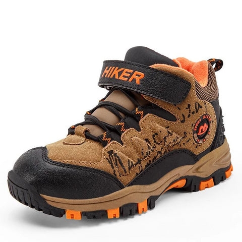 Kids Mid Top Waterproof Sneaker-Boot