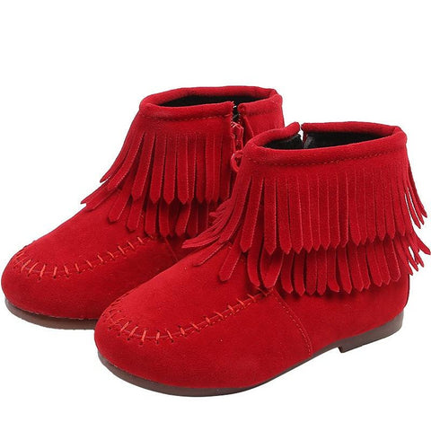 Double Fringe Boot