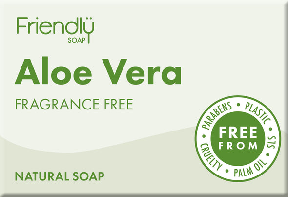 Aloe Vera Soap - Fragrance Free - Oak Lane