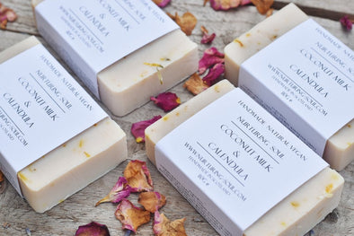 Coconut Milk Calendula Soap - Oak Lane