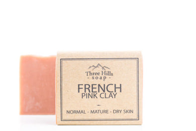 French Pink Clay Soap - Oak Lane