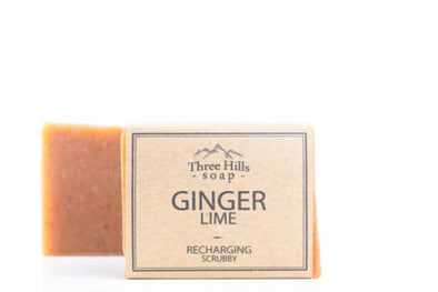 Ginger Lime Soap - Oak Lane