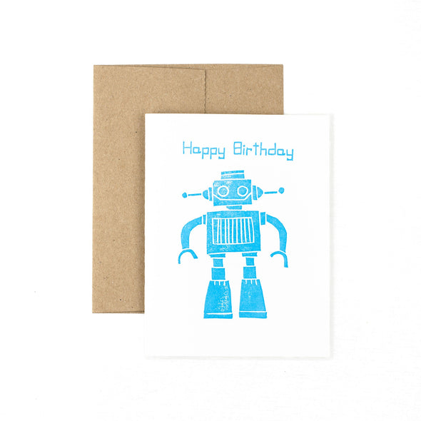Happy Birthday Robot - Oak Lane