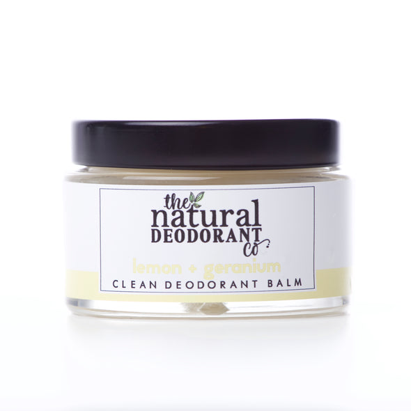 Clean Deodorant Balm Lemon + Geranium 55g - Oak Lane