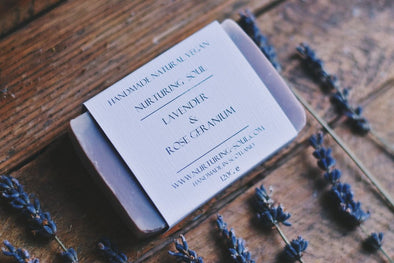 Rose Geranium & Lavender Soap - Oak Lane