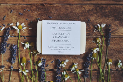 Lavender & Chamomile Shampoo & Body Bar - Oak Lane