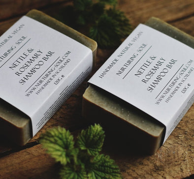 Nettle + Rosemary Shampoo & Body Bar - Oak Lane