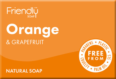 Orange & Grapefruit Soap - Oak Lane