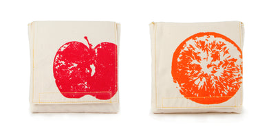Snack Pack - Apples & Oranges (Pack of 2) - Oak Lane