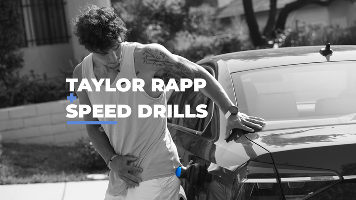 Roll with the Pros: Taylor Rapp - Functional Speed Drills