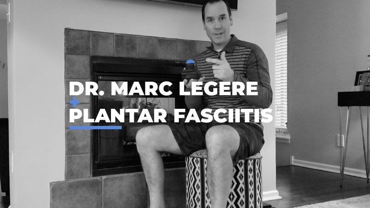 Roll with the Pros: Marc Legere - Plantar Fasciitis