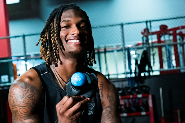 SEE HOW NFL WIDE RECEIVER CEEDEE LAMB RECOVERS WITH VERTIBALL