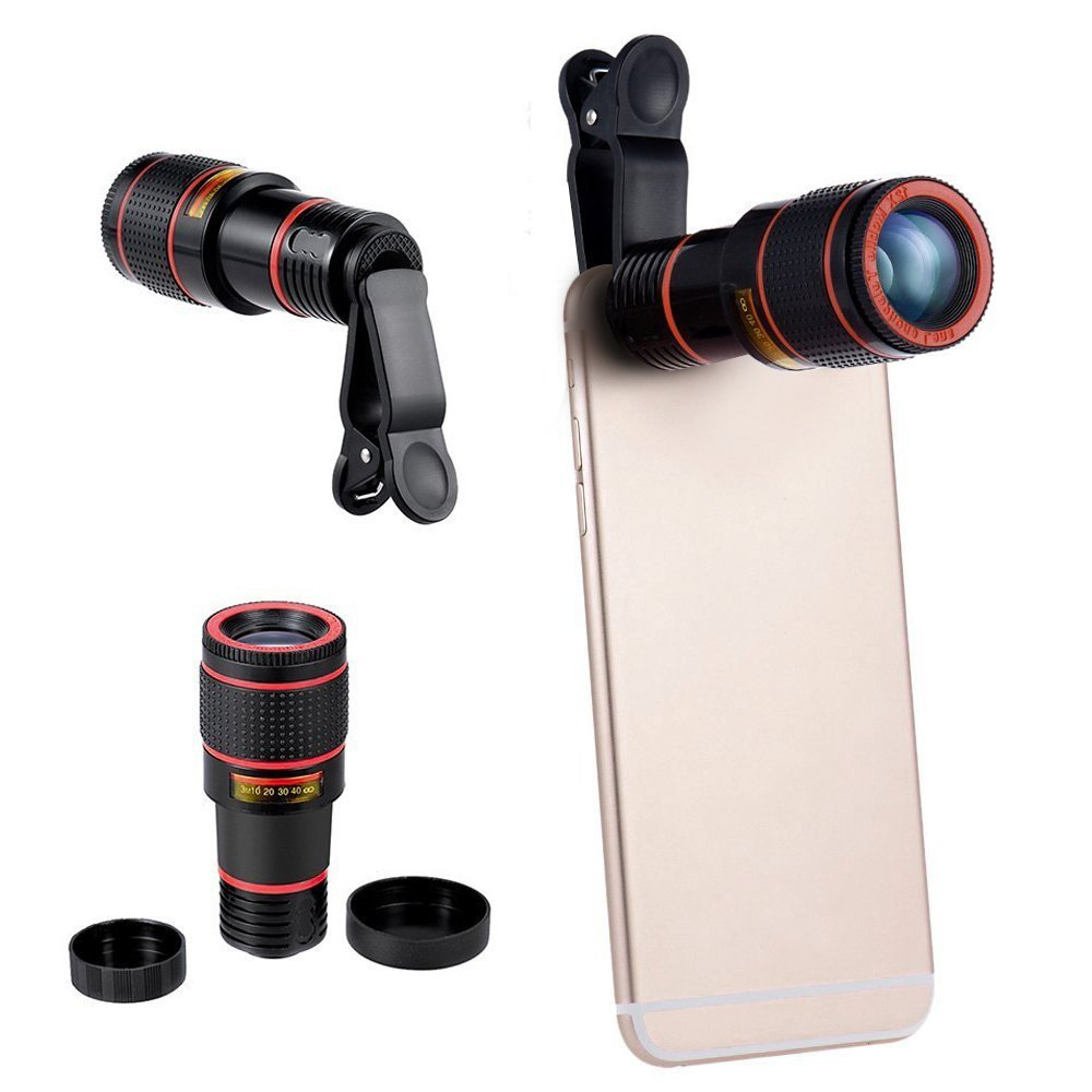 PORTABLE and COMPACT 12X TRAVEL LENS